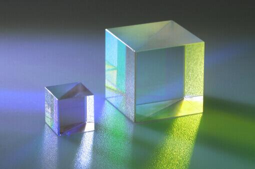 Strahlteilerwürfel polarisiernd klein und groß